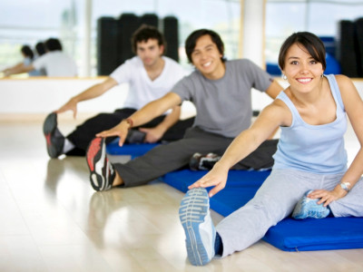 The best types of exercise are walking, jogging, cycling, swimming or dancing.