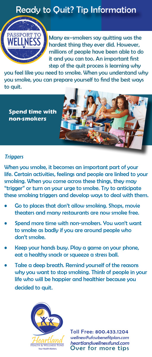 Ready to Quit Tip Sheet