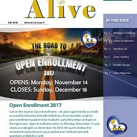 ALIVE Fall Newsletter 2016