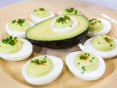 TODAY Show: Al Roker is joined by his daughter Courtney as they cook up their family-favorite recipe for avocado deviled eggs. -- May 6, 2016