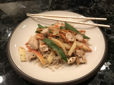 Apple Chicken Stir-Fry