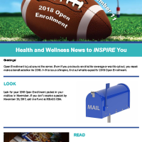October Inspire eNews 2017